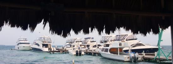 South Water Caye, Belize: beware of Easter Break