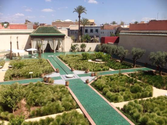 beautiful islamic garden picture of le jardin secret
