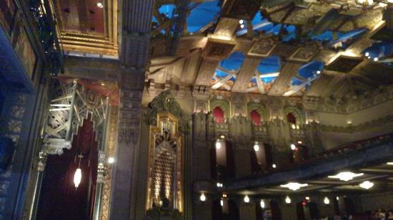 The Art Deco Interior Of The Pantages Theater In Hollywood Picture Of Pantages Theatre Los