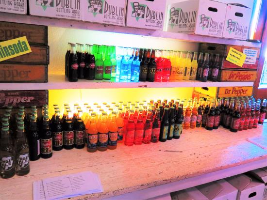 Dublin, TX: Large selection - also - any bottle with a GREEN cap is available for a free sample!