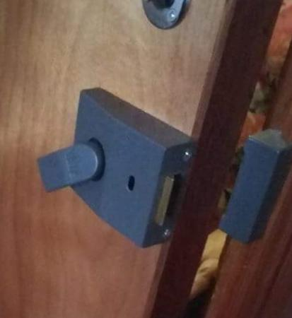 no latch lever was floppy and door not even staying shut rh tripadvisor co uk