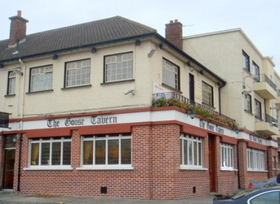 The Goose - Sion Hill Road Dublin 9 - Wonderful example of late art