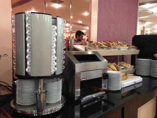 Atalay Hotel: Colazione