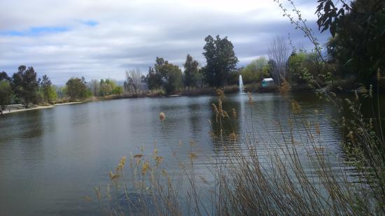 San Martin de la Vega, สเปน: vista parcial de la laguna