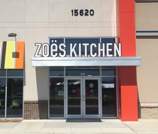 Zoes Kitchen Sign zoes kitchen, panama city beach - restaurant reviews, phone number