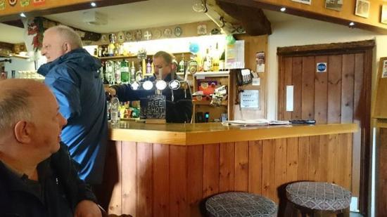 Sennybridge, UK: Inside the pub