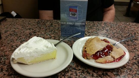Marble Falls, Техас: Pie!