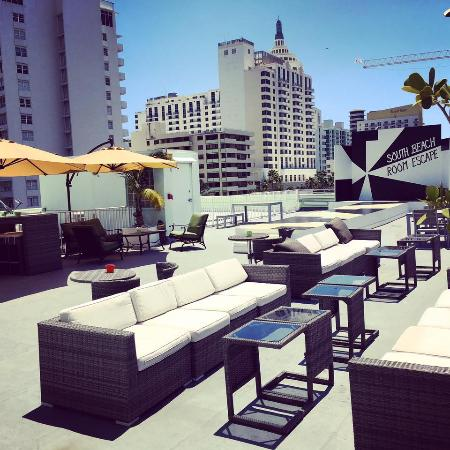 South Beach Room Escape New Rooftop
