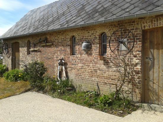 L 39 auberge vue du jardin photo de auberge du puits fleuri for Auberge du jardin