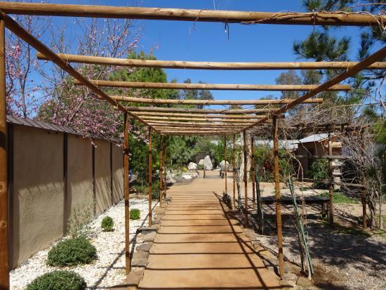 Yume Japanese Gardens: Walkway in Gardens