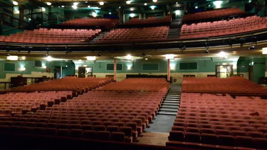 Mayflower Theatre: View from stage