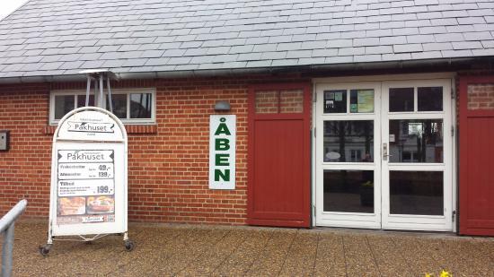 Skjern, Dania: Cafe Außenansicht