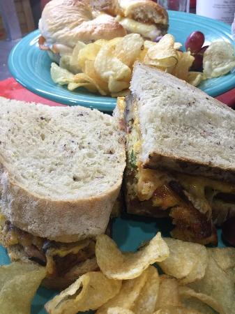 Scottsville, เวอร์จิเนีย: sandwiches
