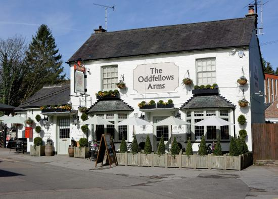 Hertfordshire, UK: The Oddfellows Arms, Harpenden