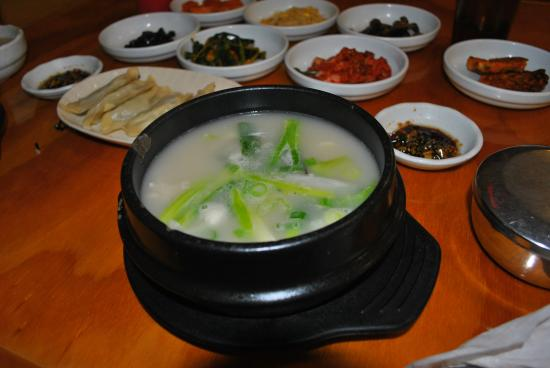 LaGrange, GA: Dogani Tang (Ox Knee Soup)- warm and soothing