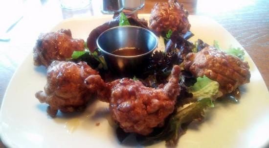 Luzerne, PA: Corn Fritters with Honey Dipping