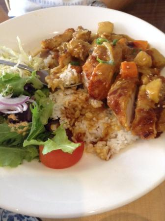 Ashfield, Australia: Curry Chicken Katsu don
