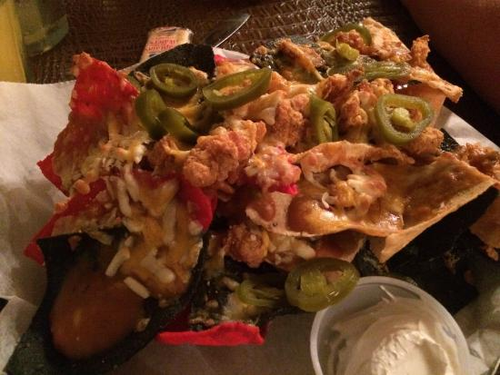 Abbeville, LA: Awesome crawfish nachos