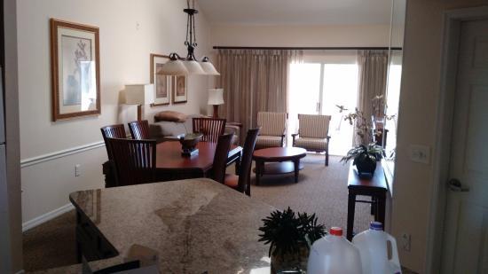 Sheraton Vistana Resort Villas Lake Buena Vista Da Cozinha Para Sala Ps