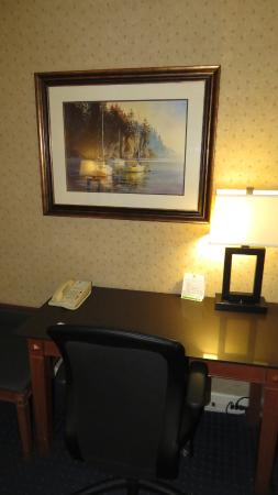 Holiday Inn Vancouver Airport: Desk area