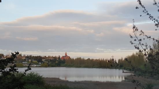Huber's Inn Port Townsend : Magical Evenings at the Kai Tai Lagoon
