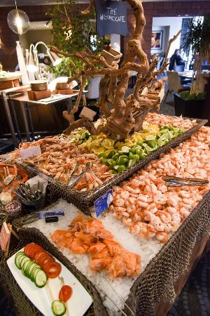 weekend brunch buffet picture of grand cafe omni hotel los rh tripadvisor com