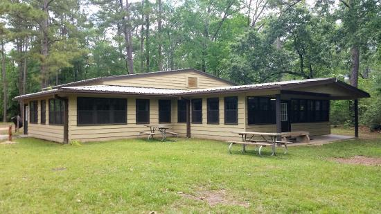 Lake Houston Wilderness Park: Pine Grove Dining Hall