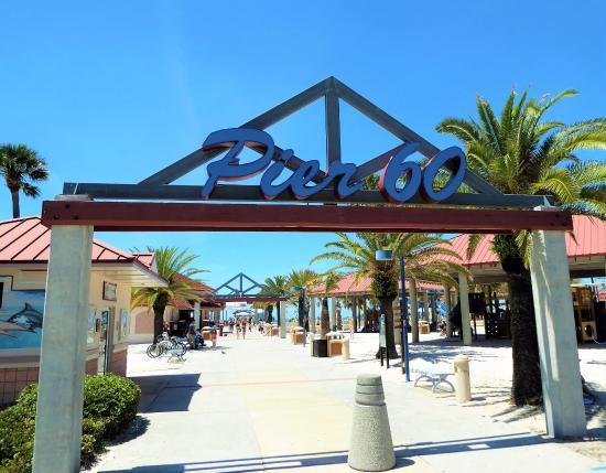 located at the entrance of pier 60 picture of clearwater beach rh tripadvisor com