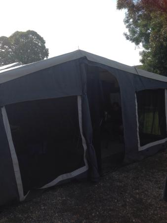 BIG4 Albury Tourist Park: We had a great stay in the park nice BBQ area with a lot more upgrades to come we will be back