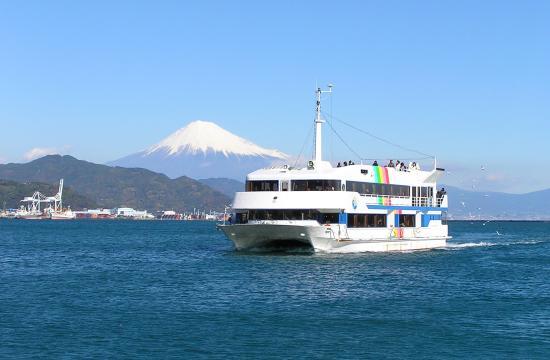 Mt.Fuji Shimizu Port Cruise