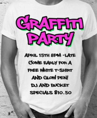 Surrey, Canadá: Tag Your Friends – It's a Graffiti Party!