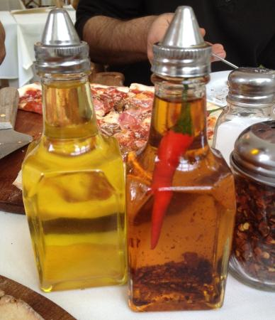 Coombs, Canada: Garlic and Red Chili Pepper infused olive oil