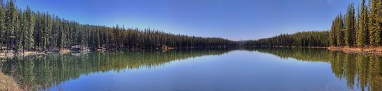 Hinton, Canadá: Petite Lake and camping (Wildhay Glacial Cascades Natural Area) AB