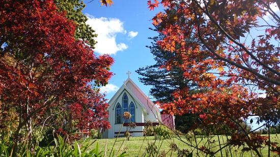 Kerikeri, Nueva Zelanda: St James's Anglican Church —the first church ever built in New Zealand.