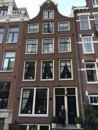 The Flying Pancake B&B Amsterdam: Outdoor view