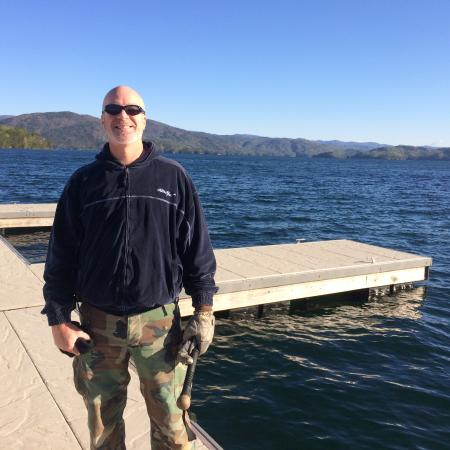 Salem, SC: on the dock ready to depart