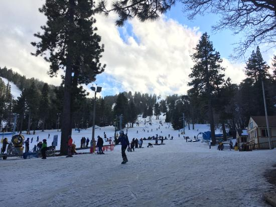 Wrightwood, Californië: i took a rest after fell down over 10 times lol