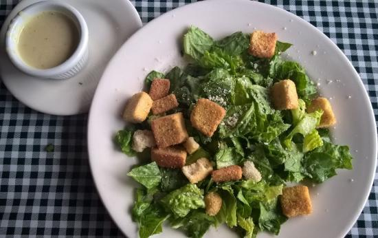 Image result for salad dressing on side