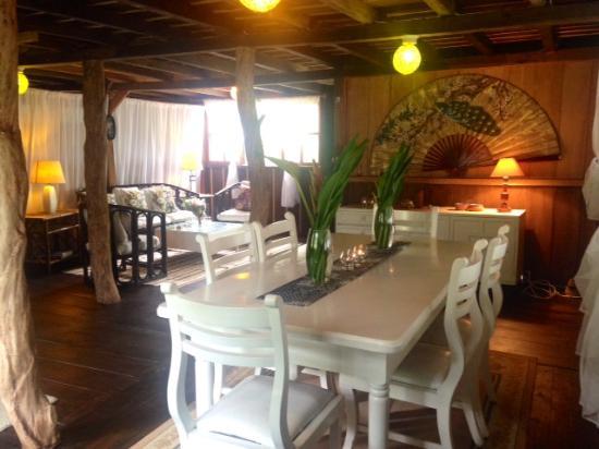 Mindo Casa de Piedra: Lounge @Casa de Madera