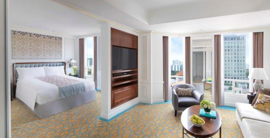 The Premier Suite is suited for business travellers or small families.