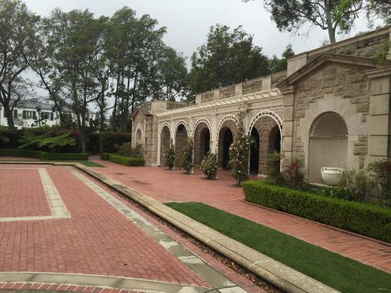 Picture Of Greystone Mansion And Park