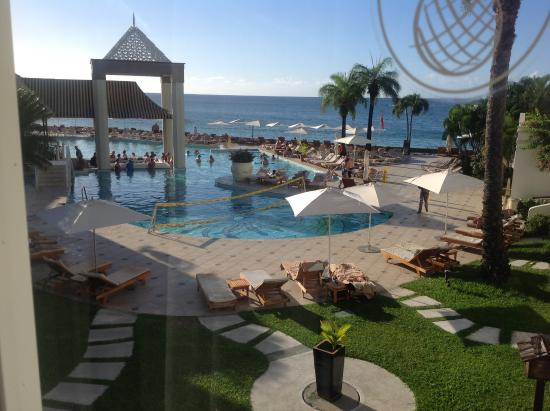 view of the main pool area and ocean beyond from our room picture rh tripadvisor co za