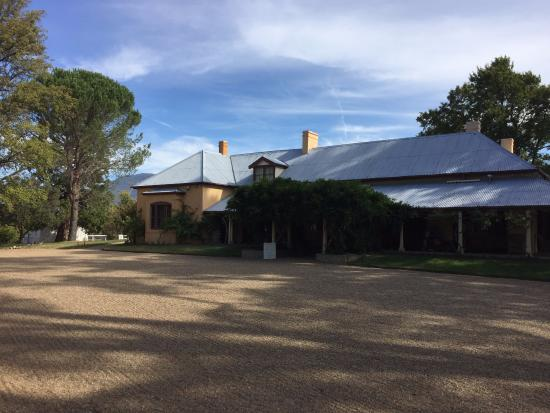 Lanyon Homestead: The front of the homestead