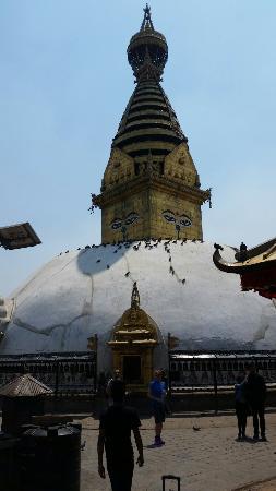 Kathmandu Grand Hotel: 20160410_075644_large.jpg
