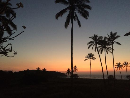 Maunaloa, HI: Sunset viewing on the lanai
