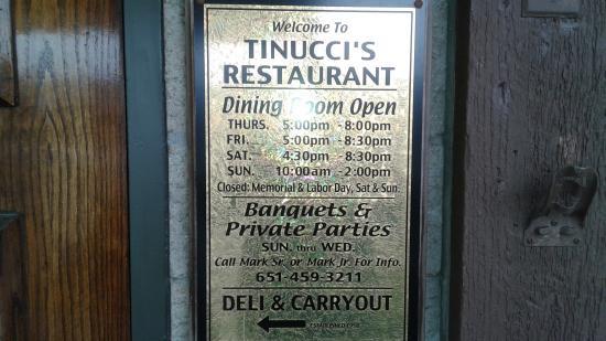 Newport, MN : Tinucci's