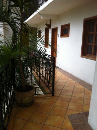 Hotel Posada Cuetzalan: cuartos de afuera