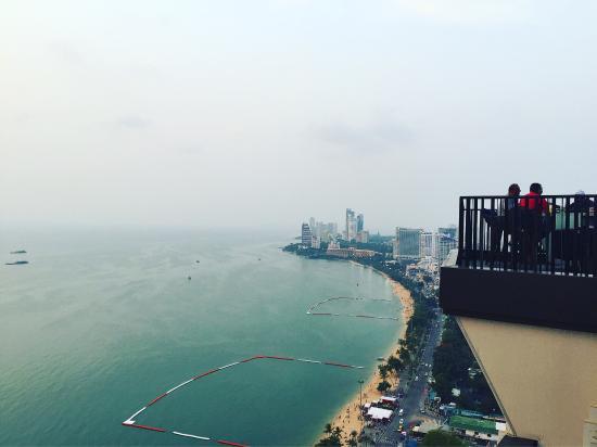 Hilton Pattaya: Прекрасный вид на все побережье