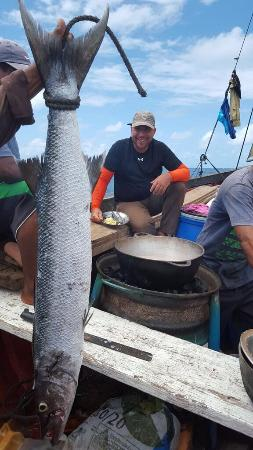 Puerto Cabezas, Nikaragua: Whipping up lunch on the fly