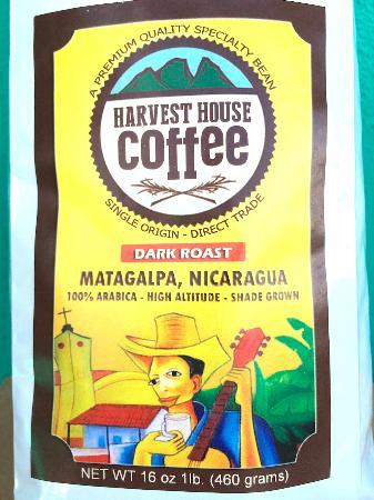 Harvest House Nicaragua: Locally-grown coffee from Matagalpa, Nicaragua